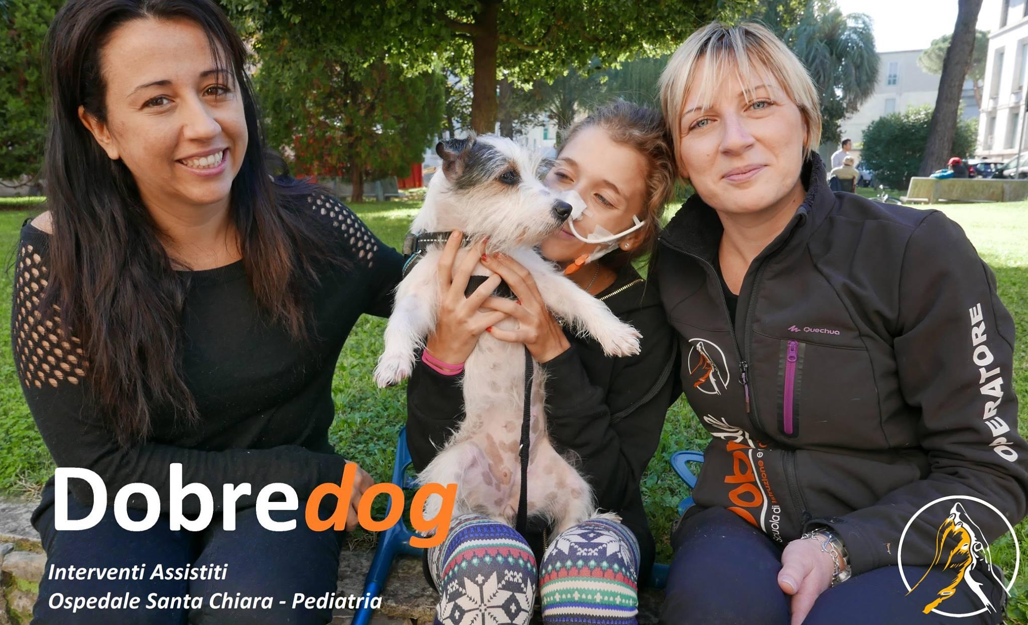 Dobredog e gli interventi di Pet Therapy - Ospedale Santa Chiara - Pisa