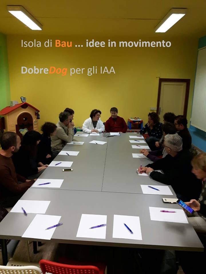 Tavolo di incontro presso il Centro Pediatrico Specializzato - Isola di Bau - Certaldo - Firenze