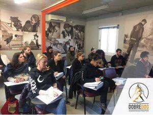 CORSO ISTRUTTORE TECNICO CANI GUIDA PER NON VEDENTI-foto aula