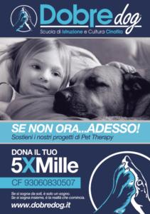 Donare alla Pet Therapy per il 5 X 1000