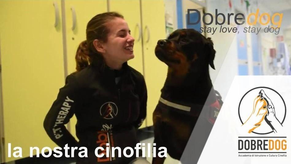 Dea Rottweiler in corsia all'ospedale santa chiara di pisa
