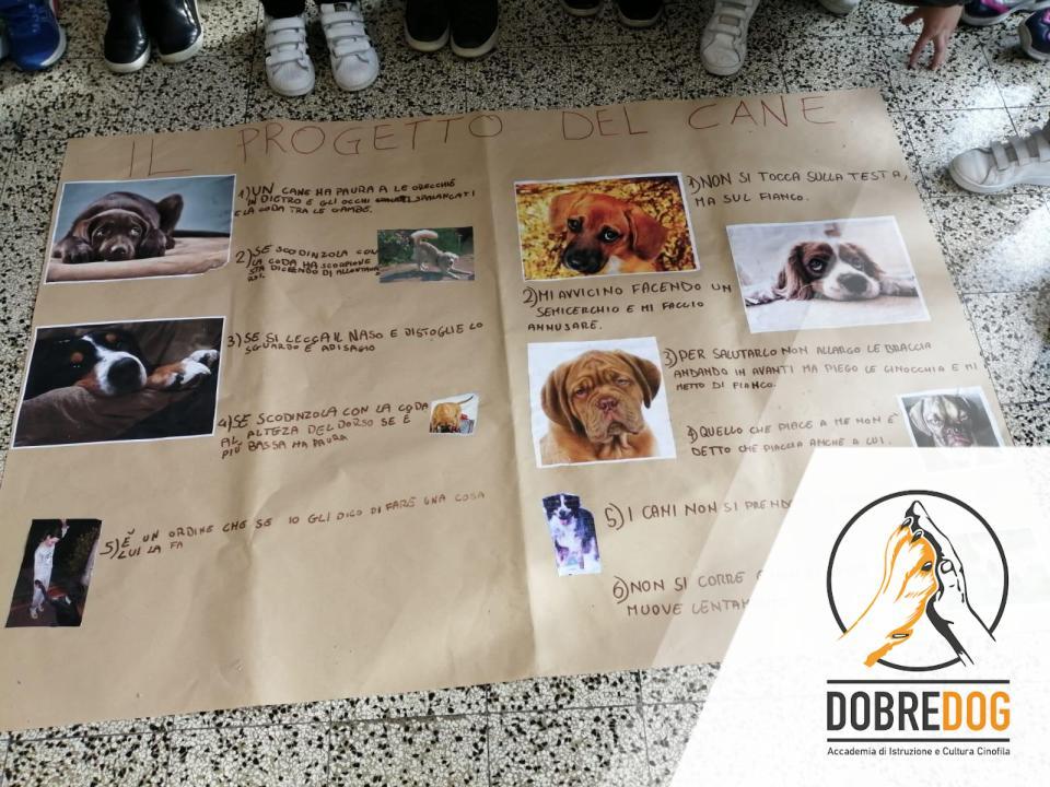 Progetto scolastico con ausilio del cane