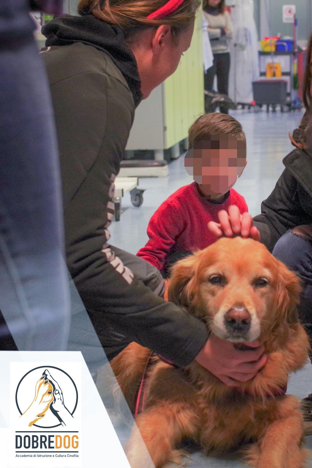 Pet Therapy all'Ospedale Santa Chiara per Natale