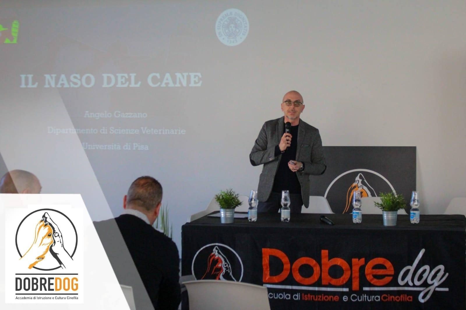 Prof. Angelo Gazzano al Convegno Nazionale sul fiuto del cane, l'impiego delle forze di polizia e soccorso