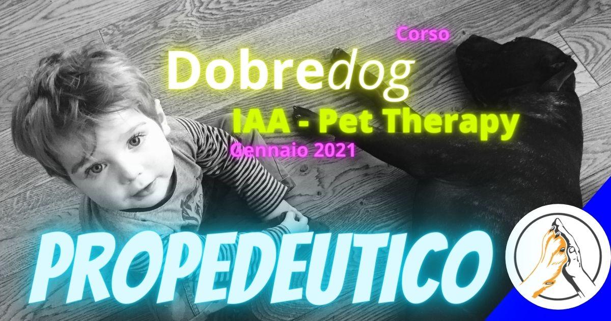 corso propedeutico pet therapy